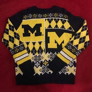 Other - University of Michigan Holiday Sweater (size L)
